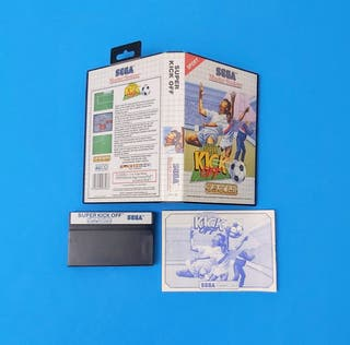 Super Kick Off / Master System