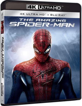 THE AMAZING SPIDER-MAN 4K UHD BLU-RAY