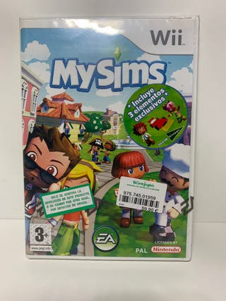 MySims para la Wii