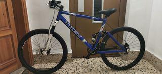 se vende bici doble suspension trek