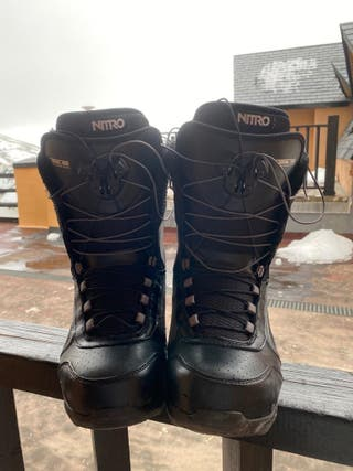 Botas snowboard Nitro, talla 40