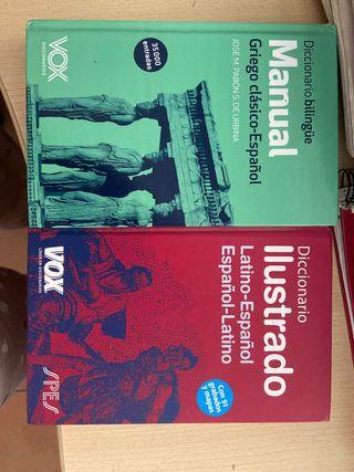 diccionarios de griego y latín
