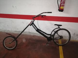 bicicleta paseo estilo harley