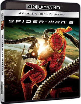 SPIDER-MAN 2 4K UHD Blu-ray