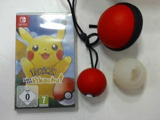 Pokemon Lets Go Pikachu Poke Ball Plus Nintendo Sw