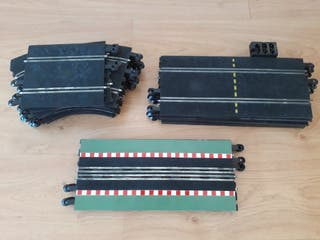 Lote 23 tramos pista Scalextric