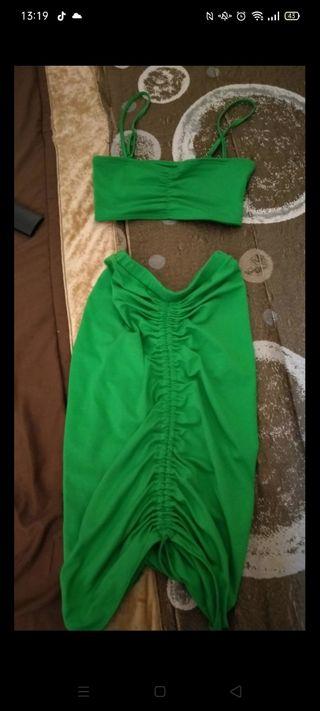 vestidos 2 piezas