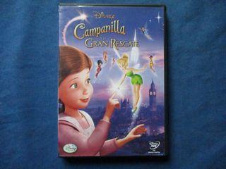 DVD - CAMPANILLA Y EL GRAN RESCATE