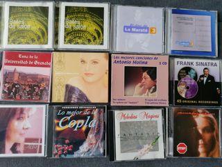 Diversos CD de música