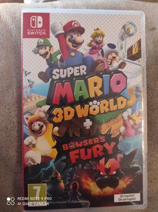 Super Mario 3D World + Bowser's Fury para Switch
