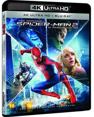 THE AMAZING SPIDER-MAN 2 4K UHD BLU-RAY
