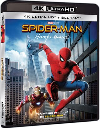 SPIDER-MAN 4K UHD Blu-ray