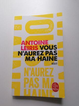 Vous n'aurez pas ma haine. Antoine Leiris