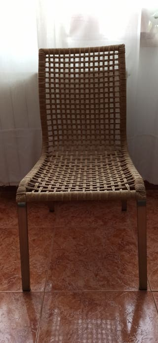 Juego de 4 sillas Nandor de Ikea.No en catálogo.