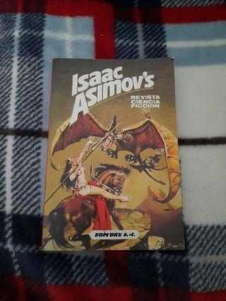 Revista Ciencia ficción número 12 Isaac Asimov