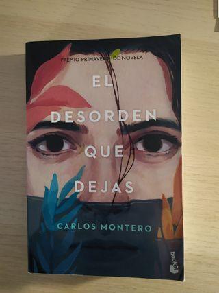 """Libro """"El desorden que dejas"""""""