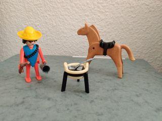 Playmobil. Mexicano. 1a generación