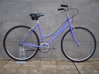 Bicicleta de paseo clásica, talla M