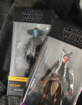 Pack figura Star Wars Black Series Cad Bane Ahsoka