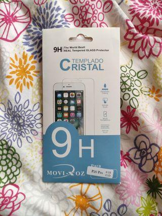 Cristal templado Huawei p20 pro
