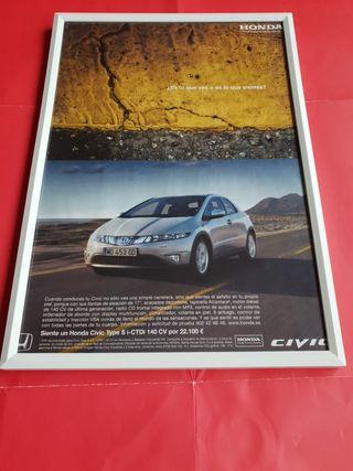Honda Civic Type S cuadro