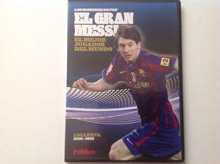 MESSI. DVD EL GRAN MESSI+ REGALO