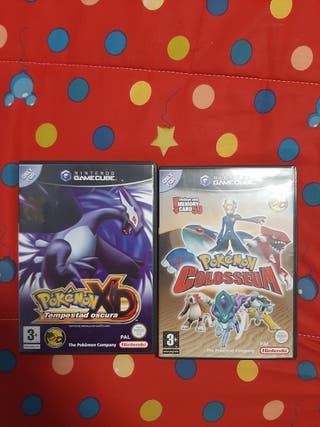 Pack Pokemon Tempestad Oscura + Pokemon Colloseum