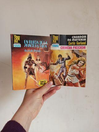Libros Bruguera bolsillo. Ciencia ficción