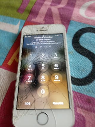 movil iphone. cambiar cristal