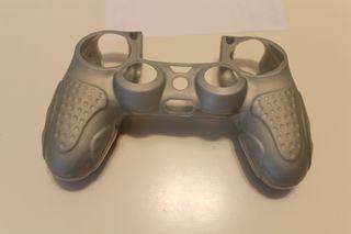 Funda mando ergonómica PS4 Color plata