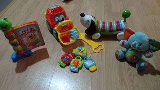 lote juguetes para bebé niño