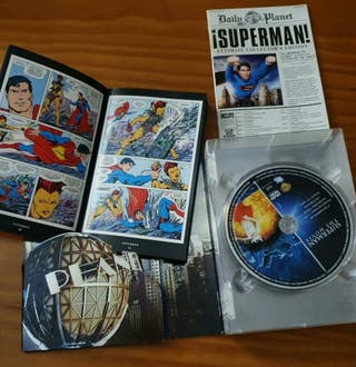 Pack saga Superman DVD Coleccionista