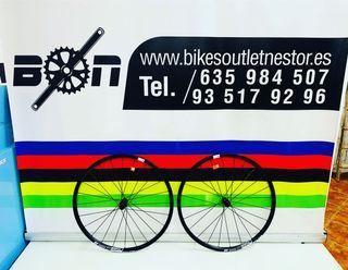 Par ruedas Dt Swiss E1850 spline disc nuevas