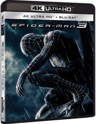 SPIDER-MAN 3 4K UHD Blu-ray