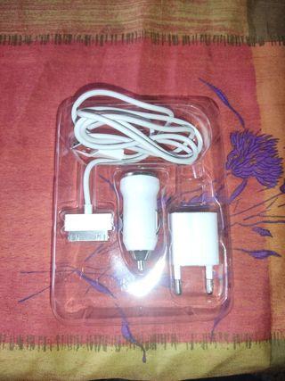 cargador iphone ipod antiguo casa y coche
