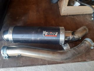 tubo de escape gsxr 600