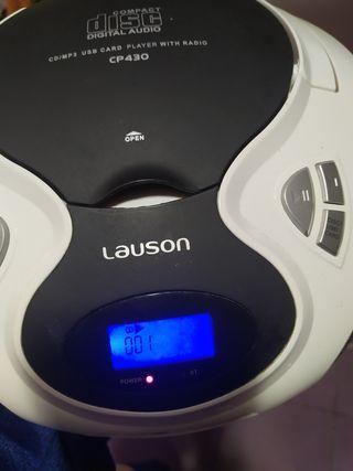 reproductor CD,MP3,USB,lector de tarjeta SD,