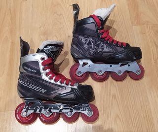 Patines en linea hockey Mission numero 35