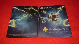 PlayStation plus steelbook power up your play