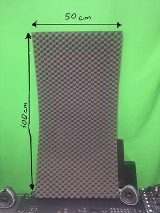 Paneles acústicos 50x100