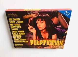 Pulp Fiction blu-ray + slipcover. 1ª ed. Tarantino