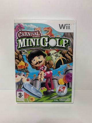 Minigolf Wii