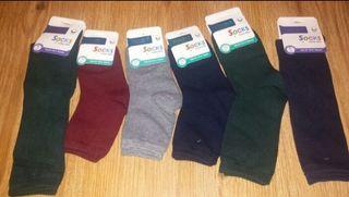 Se venden por cierre de mercería calcetines cole