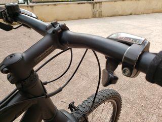 BICICLETA ROCKRIDER -ALUMINIO NEGRA - 24V - 100%