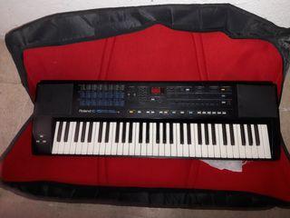teclado sintetizador roland e15