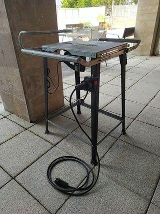 sierra de calar Bosch pst 800 con mesa