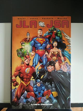 Comic JLA JSA superman.