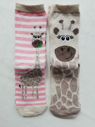 2 pares de calcetines mujer. Sin estrenar.