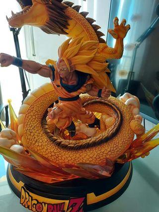 Resina Dragon Ball goku SSJ3