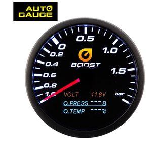 Reloj de presión turbo y aceite digital 4 en 1.